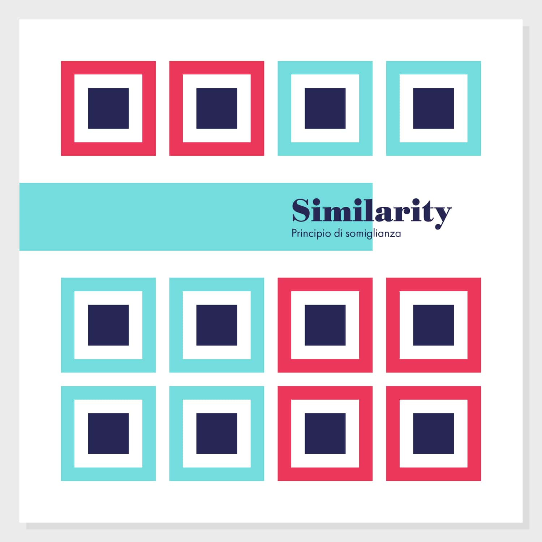 Gestalt, Principio di somiglianza