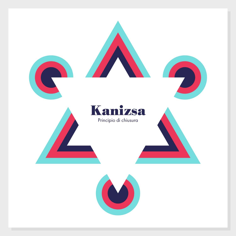 Gestalt, Principio di chiusura o completamento - Triangolo di Kanizsa